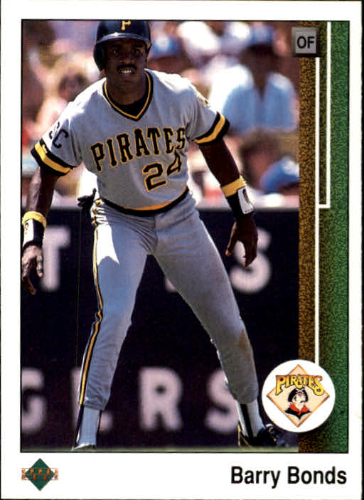 1989 Upper Deck #440 Barry Bonds