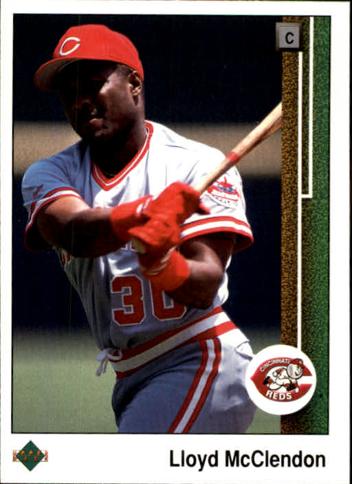 1989 Upper Deck #446 Lloyd McClendon