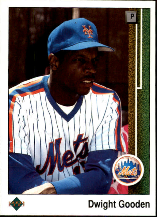 1989 Upper Deck #565 Dwight Gooden