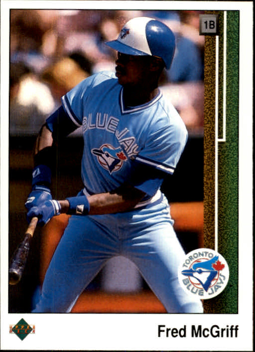 1989 Upper Deck #572 Fred McGriff