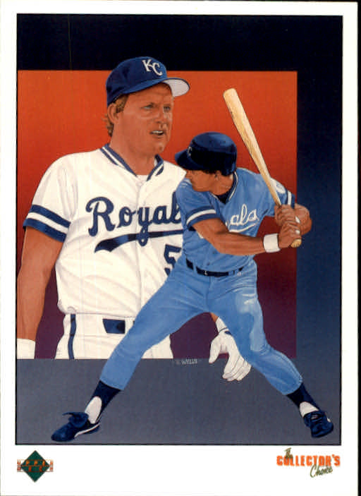 1989 Upper Deck #689 George Brett TC
