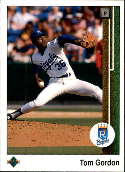 1989 Upper Deck #736 Tom Gordon RC