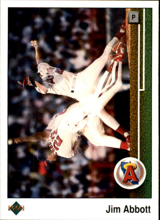 1989 Upper Deck #755 Jim Abbott RC