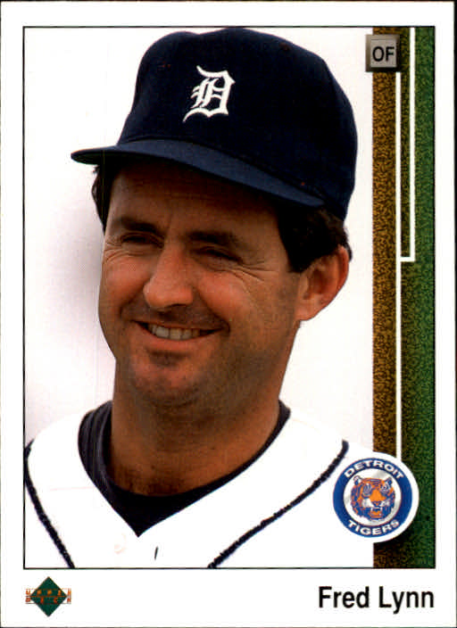 1989 Upper Deck #761 Fred Lynn