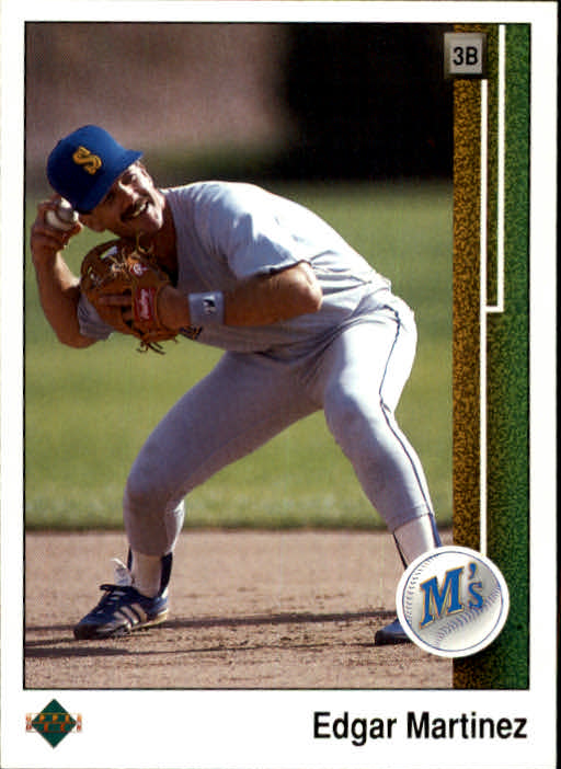 1989 Upper Deck #768 Edgar Martinez