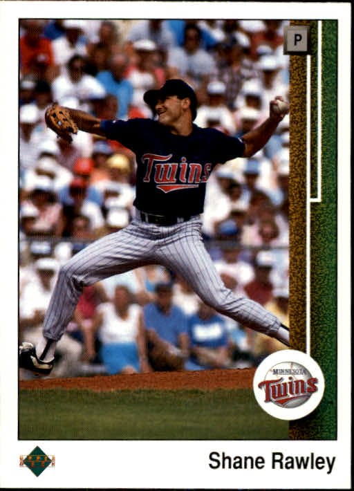 1989 Upper Deck #786 Shane Rawley