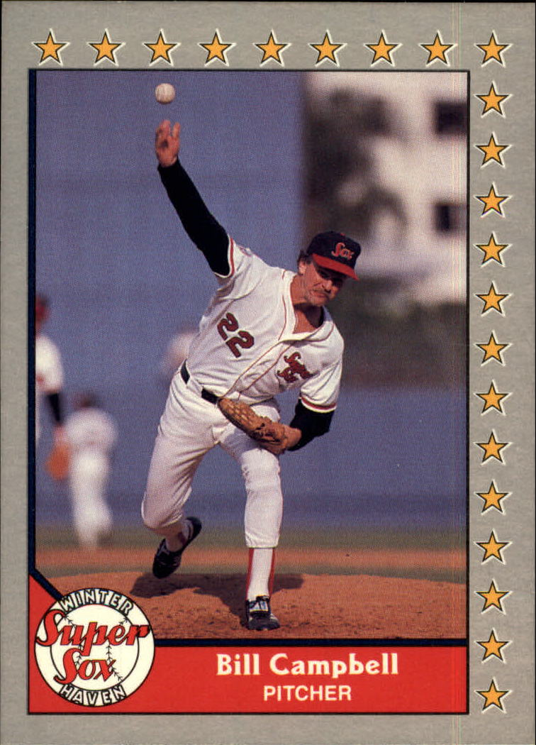 1989-90 Pacific Senior League #34 Bill Campbell