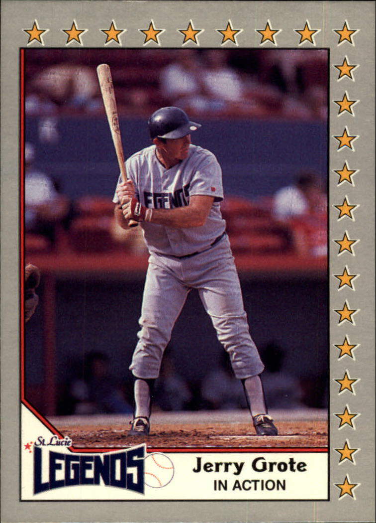 1989-90 Pacific Senior League #120 Jerry Grote IA