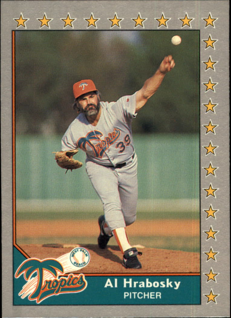 1989-90 Pacific Senior League #179 Al Hrabosky