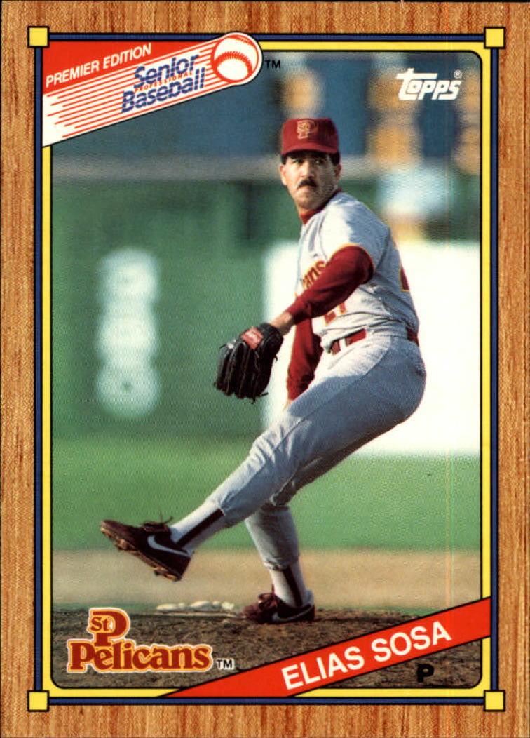 1989-90 Topps Senior League #45 Elias Sosa
