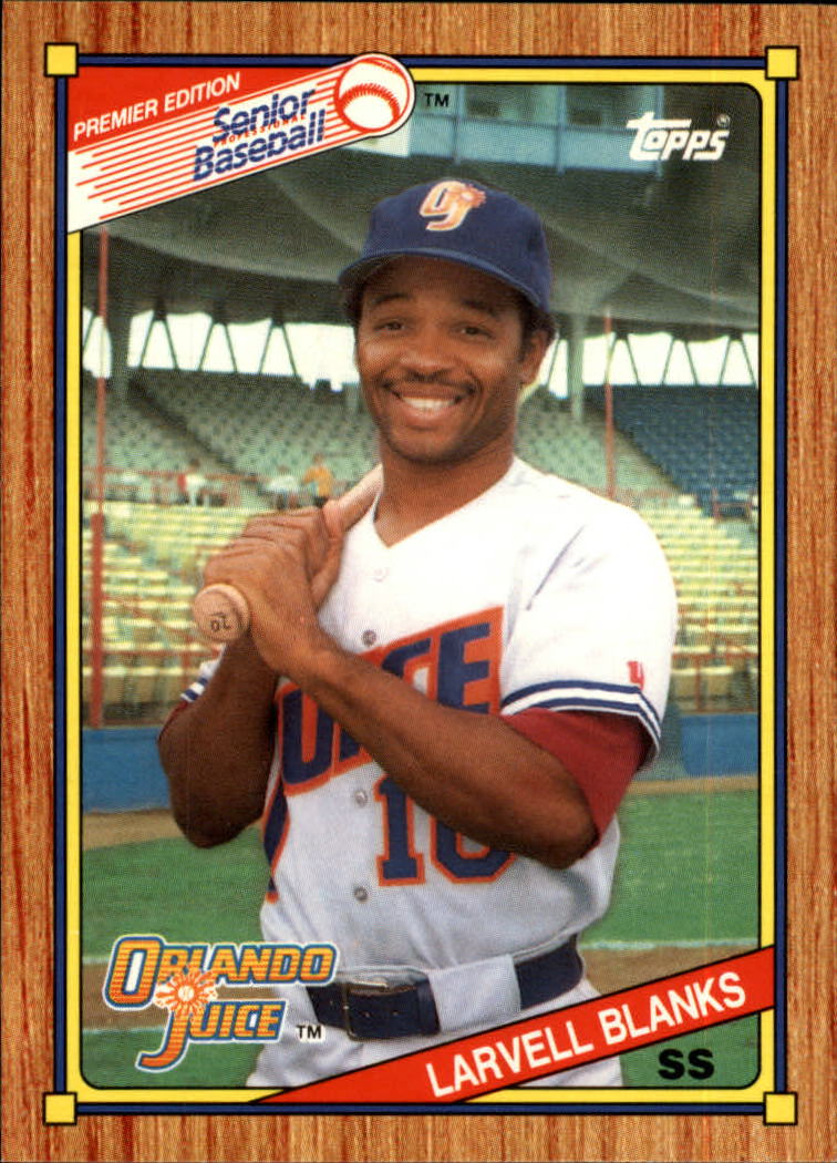 1989-90 Topps Senior League #92 Larvell Blanks