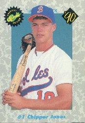 1990 Classic Draft Picks #1 Chipper Jones