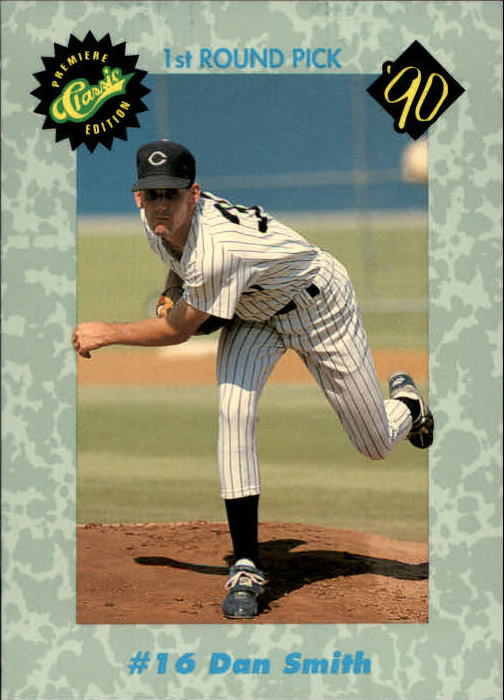 1990 Classic Draft Picks #16 Dan Smith
