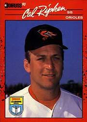 1990 Donruss Learning Series #19 Cal Ripken