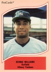 1990 ProCards A and AA #31 Bernie Williams