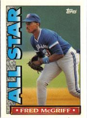 1990 Topps TV All-Stars #26 Fred McGriff