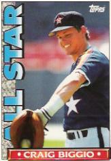 1990 Topps TV All-Stars #41 Craig Biggio