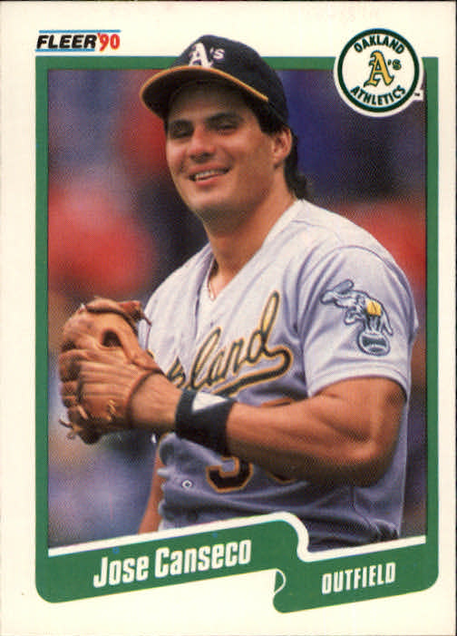 1990 Fleer #3 Jose Canseco