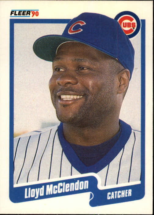 1990 Fleer #38 Lloyd McClendon