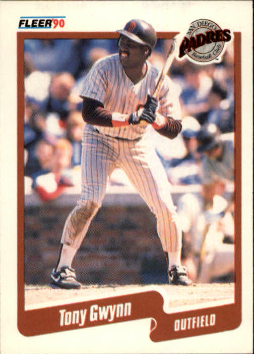1990 Fleer #157 Tony Gwynn