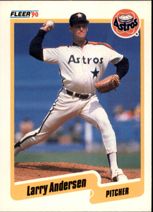 1990 Fleer #221 Larry Andersen
