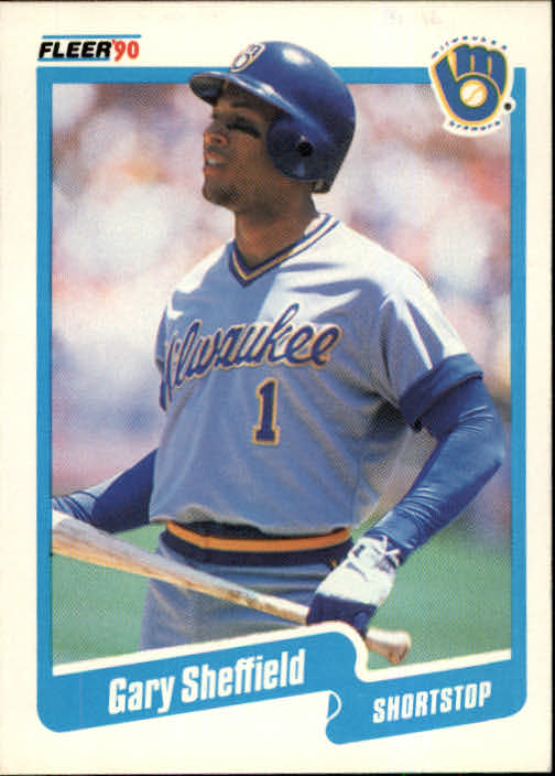 1990 Fleer #336 Gary Sheffield UER