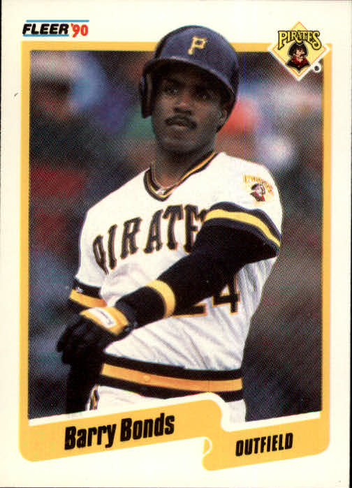 1990 Fleer #461 Barry Bonds