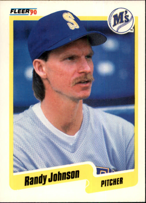1990 Fleer #518 Randy Johnson