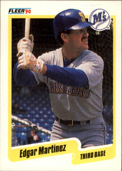 1990 Fleer #520 Edgar Martinez