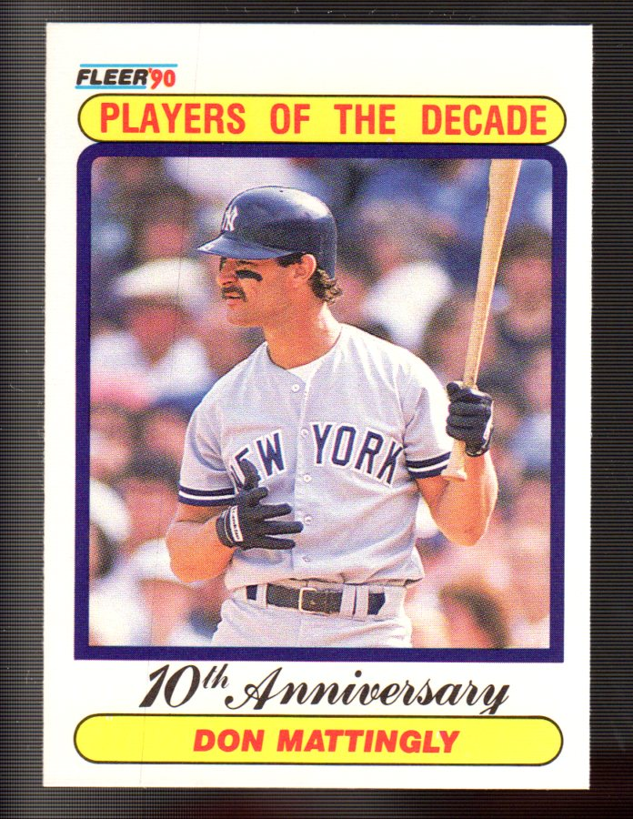 1990 Fleer #626 Don Mattingly '85