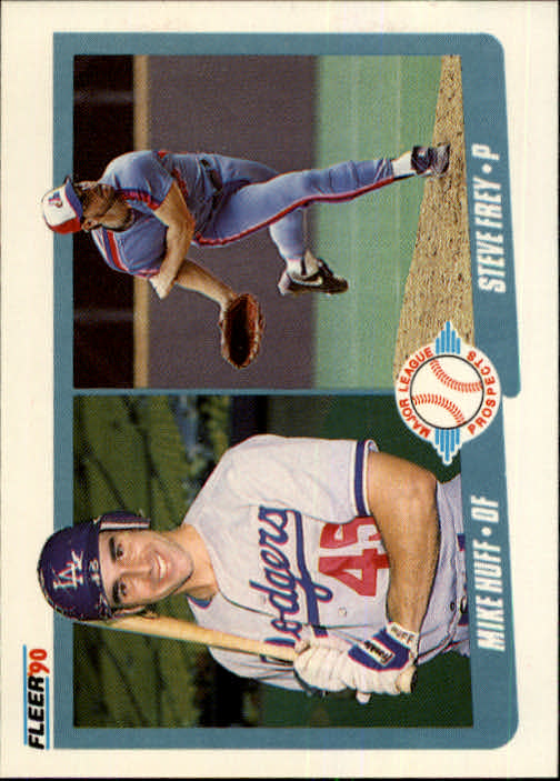 1990 Fleer #649 Mike Huff/Steve Frey