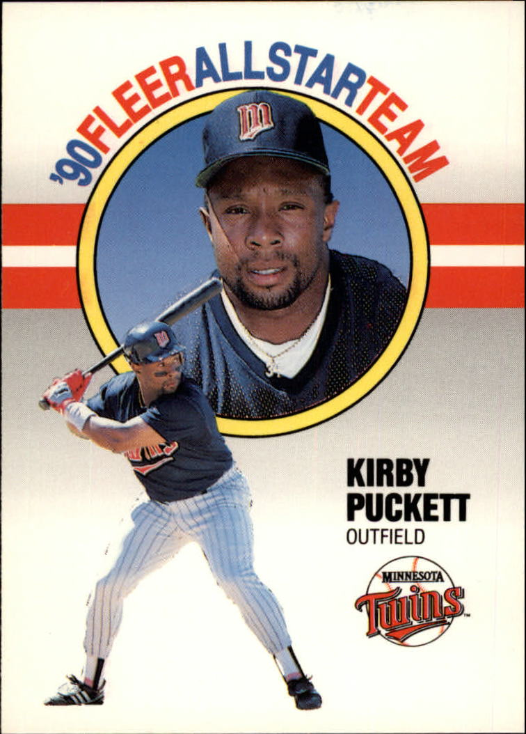 1990 Fleer All-Stars #7 Kirby Puckett