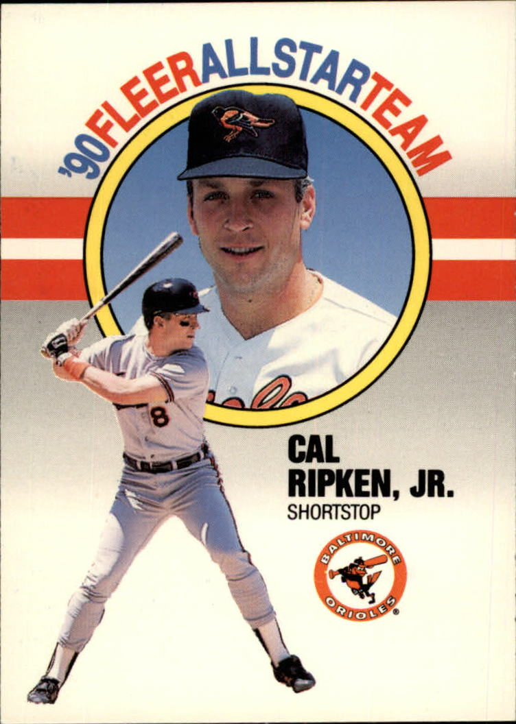 1990 Fleer All-Stars #8 Cal Ripken