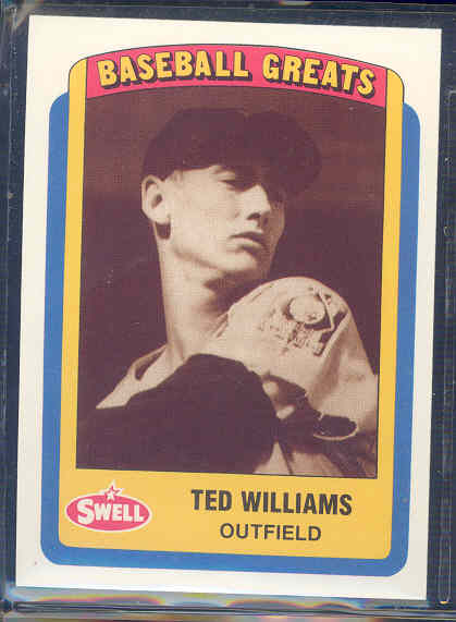 1990 Swell Baseball Greats #125 Ted Williams