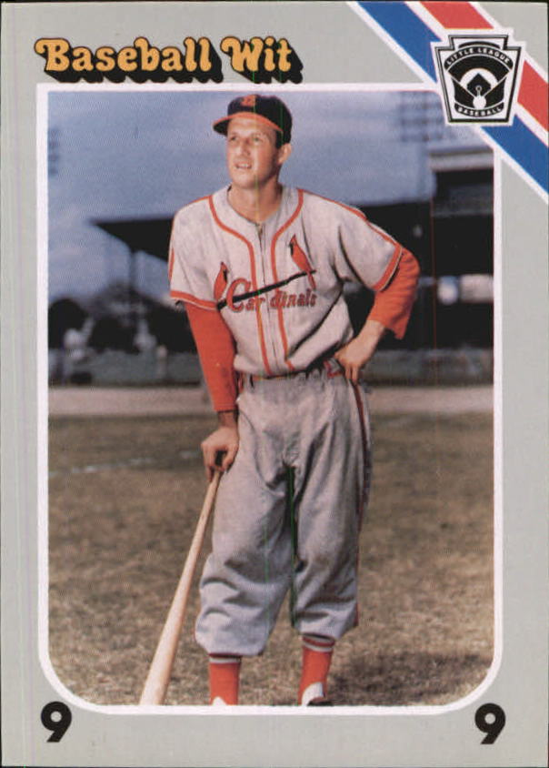 1990 Baseball Wit #36 Stan Musial