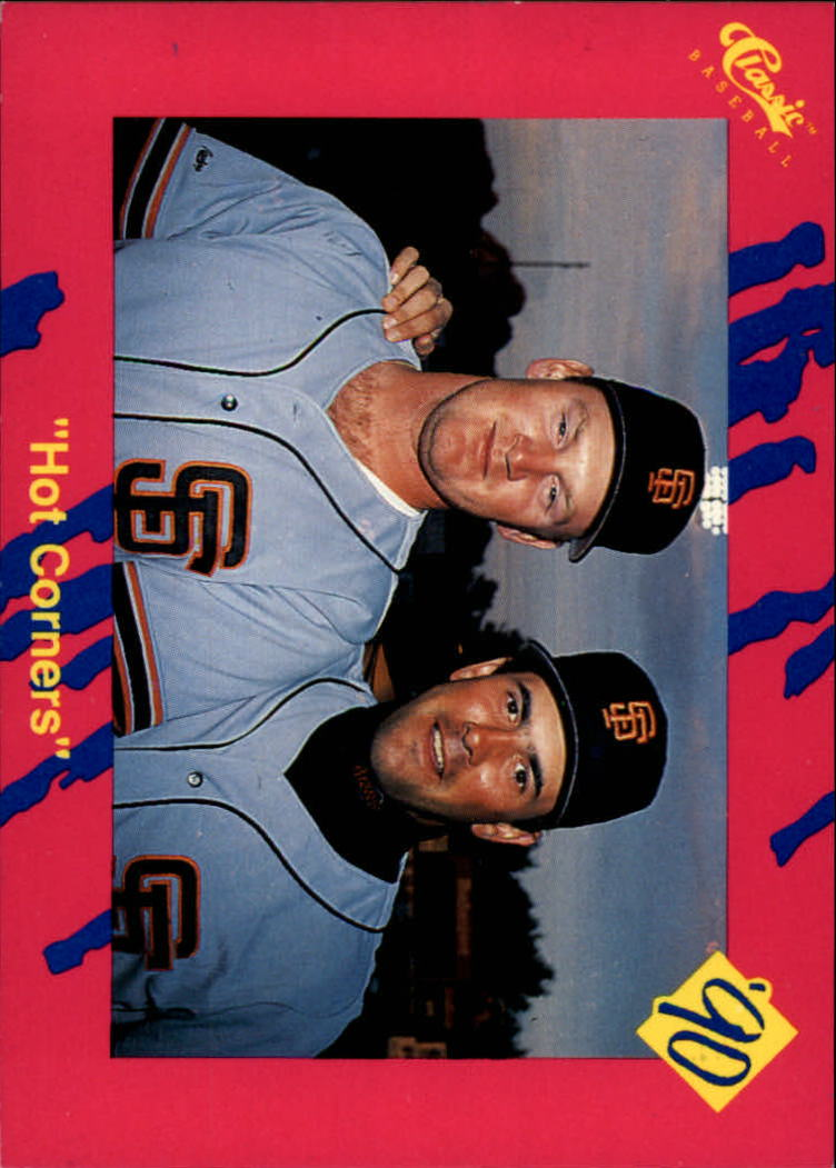 1990 Classic Update #T11 Hot Corners HOR/Matt Williams/Will Clark