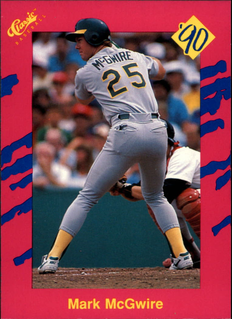 1990 Classic Update #T33 Mark McGwire