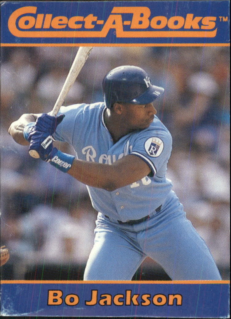 1990 Collect-A-Books #1 Bo Jackson