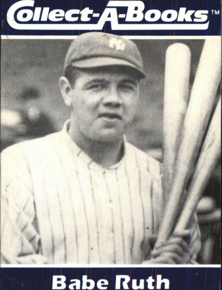 1990 Collect-A-Books #10 Babe Ruth