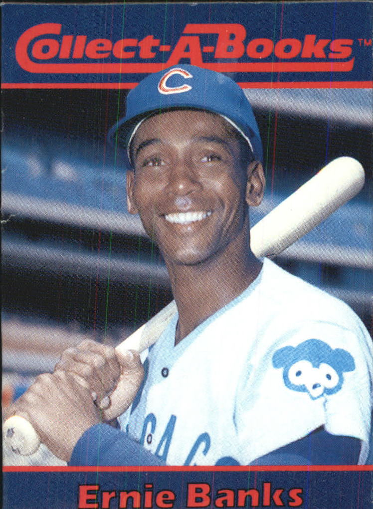 1990 Collect-A-Books #11 Ernie Banks front image
