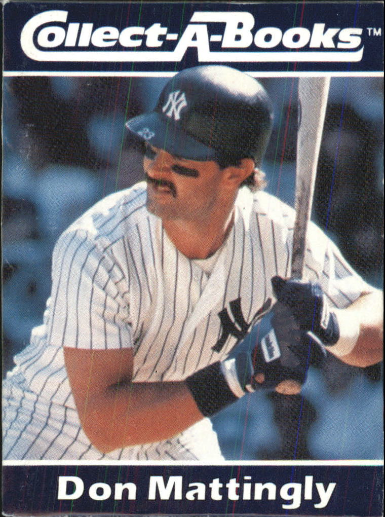 1990 Collect-A-Books #13 Don Mattingly