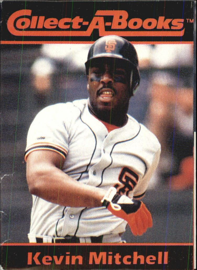 1990 Collect-A-Books #16 Kevin Mitchell
