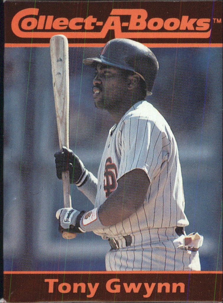 1990 Collect-A-Books #17 Tony Gwynn