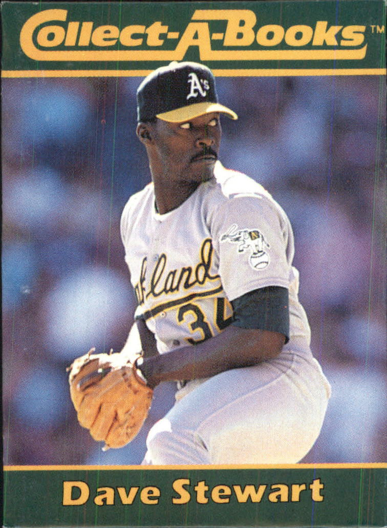 1990 Collect-A-Books #18 Dave Stewart