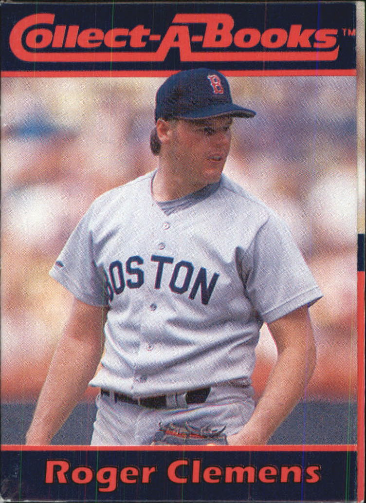 1990 Collect-A-Books #19 Roger Clemens