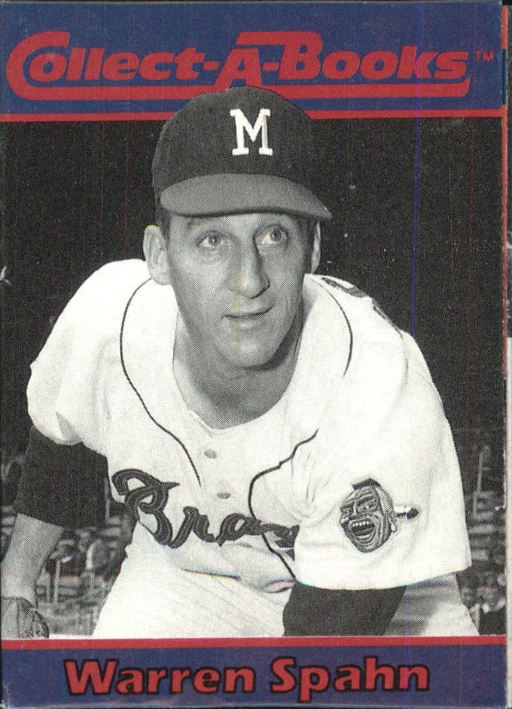 1990 Collect-A-Books #24 Warren Spahn