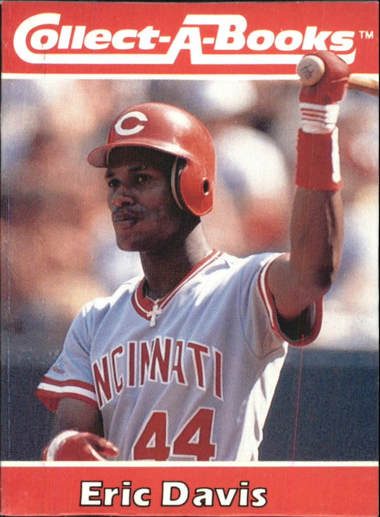 1990 Collect-A-Books #28 Eric Davis