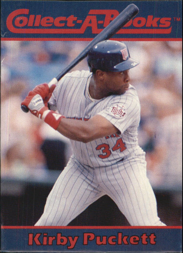 1990 Collect-A-Books #33 Kirby Puckett