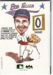 1990 Collect-A-Books #36 Bob Feller back image