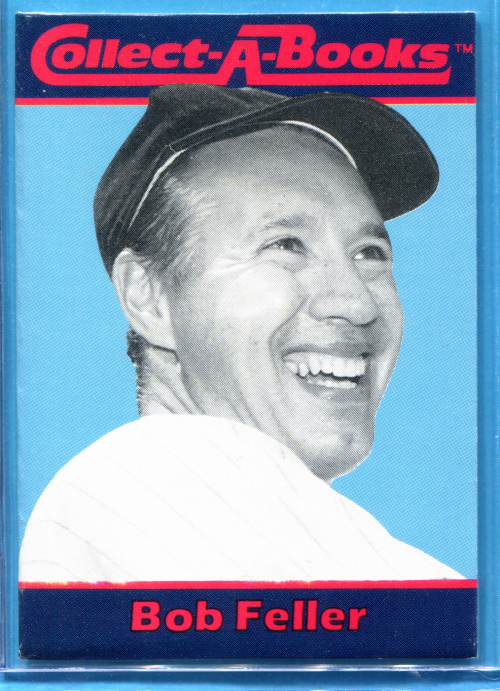 1990 Collect-A-Books #36 Bob Feller front image